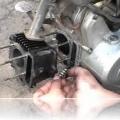 Экономный ремонт поршневой скутера